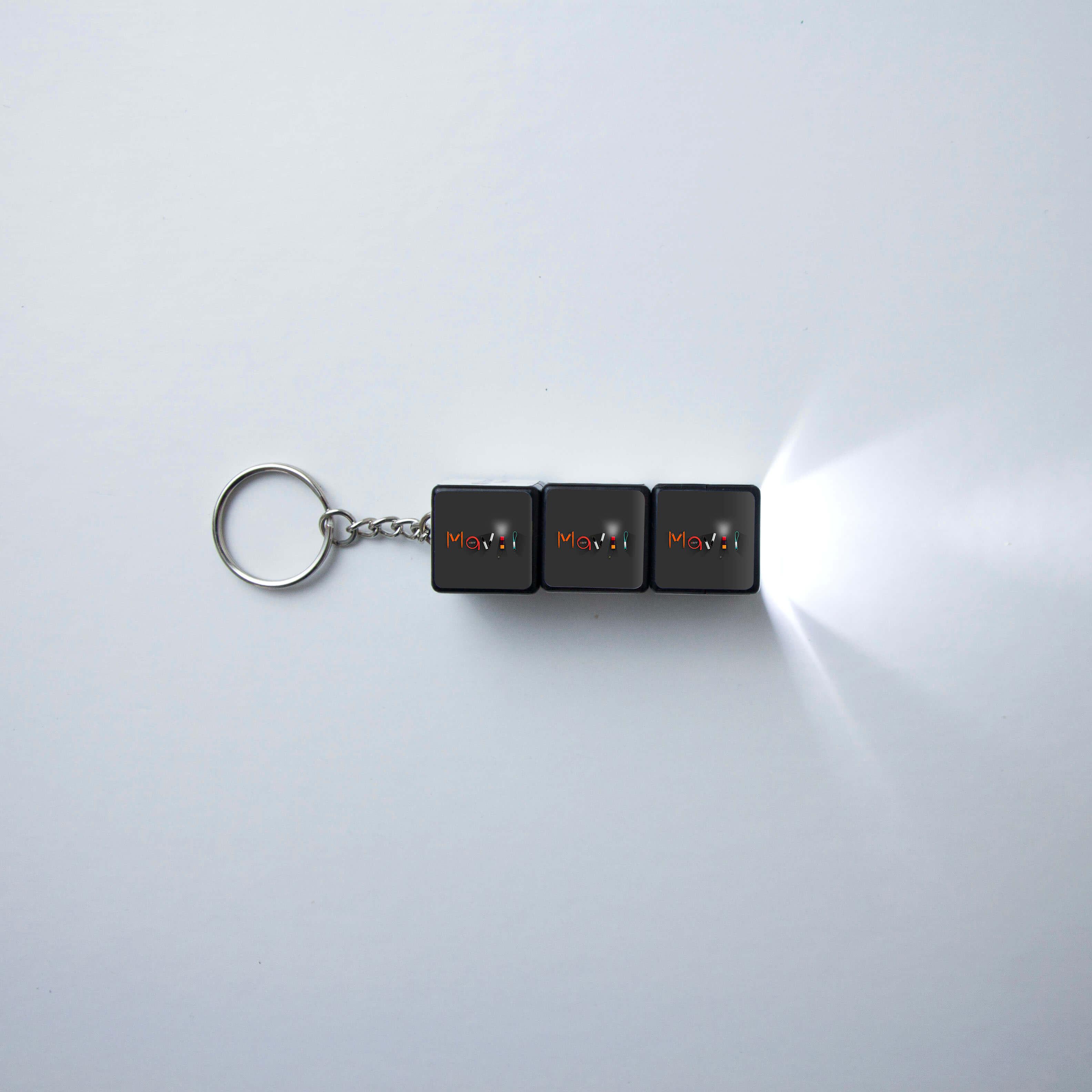 Mavip-rubik-cube-porte-cles-lumiere