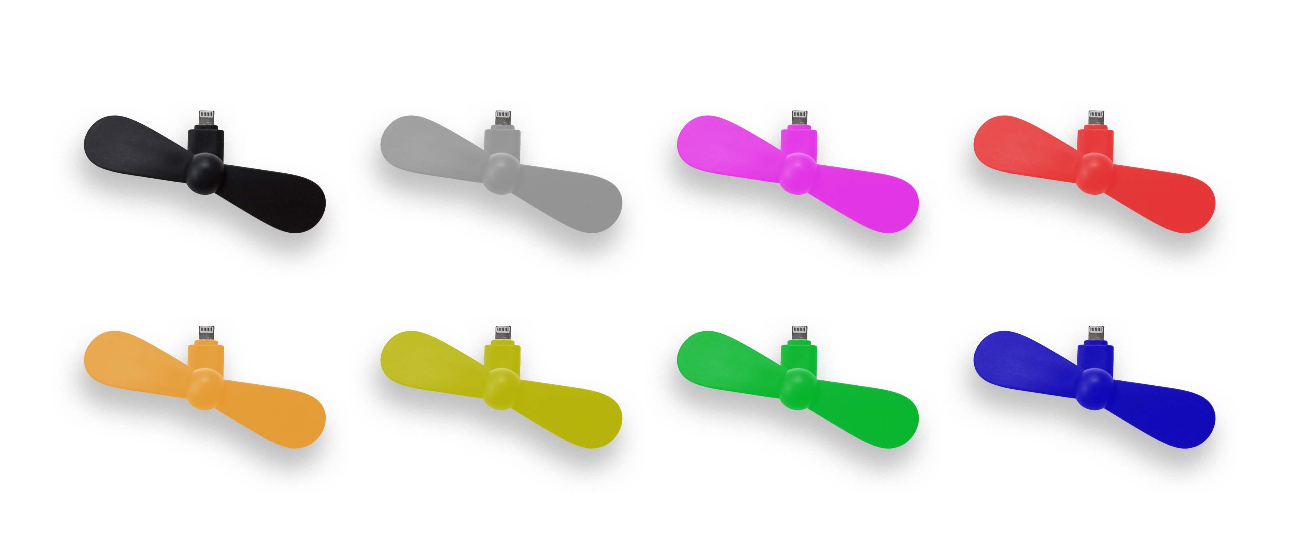 Les couleurs pour le ventilateur pour smartphone avec logo