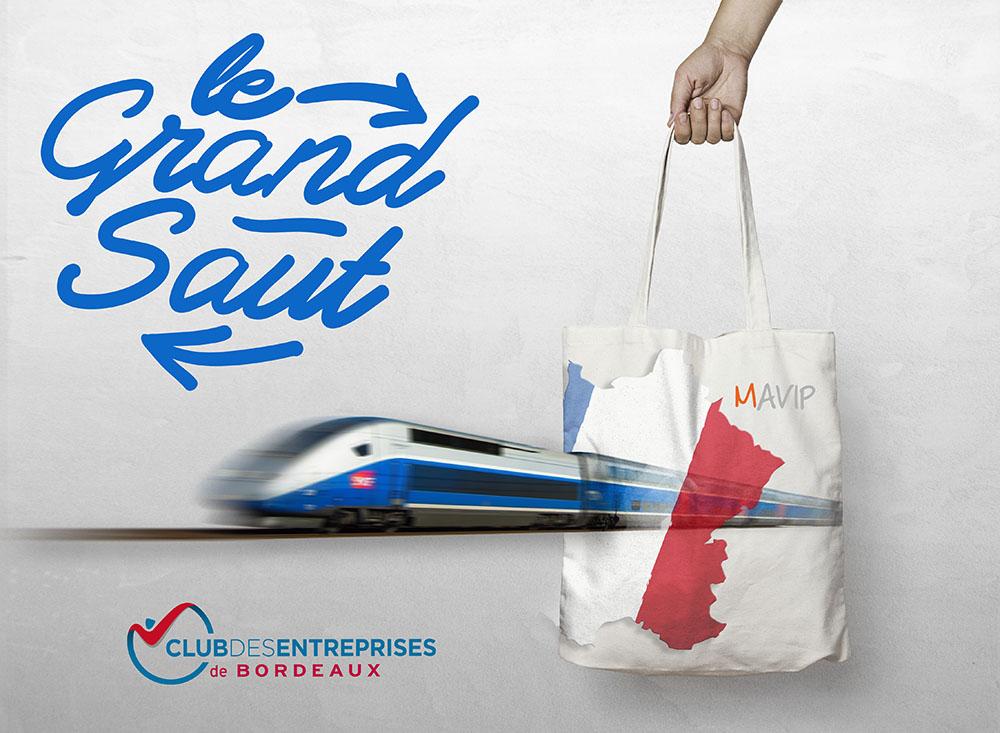 Rencontre d'entrepreneurs entre Paris et Bordeaux sur la ligne TGV