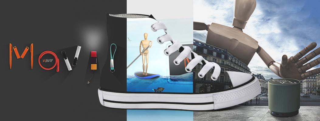 Chaussures personnalisable avec impression totale