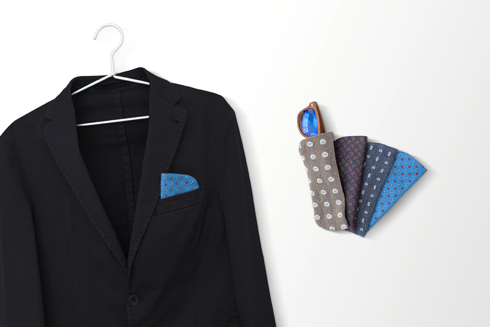 votre tui lunettes devient une pochette pour votre veste mavip mavip. Black Bedroom Furniture Sets. Home Design Ideas