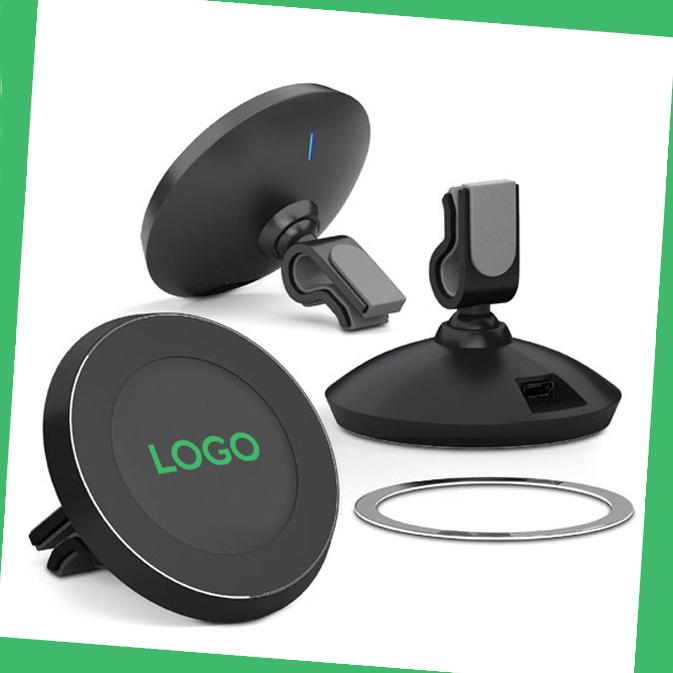 Chargeur smartphone à induction personnalisable avec logo d'entreprise