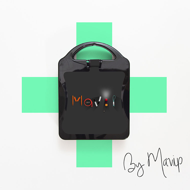 Kit de premiers secours customisé avec votre logo d'entreprise by Mavip