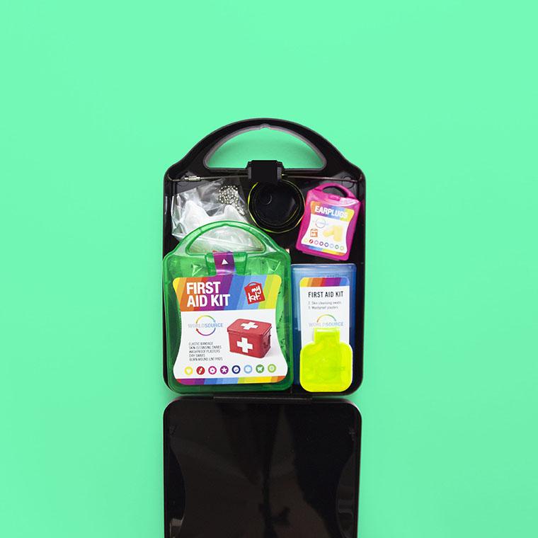 Kit premiers secours personnalisable by Mavip