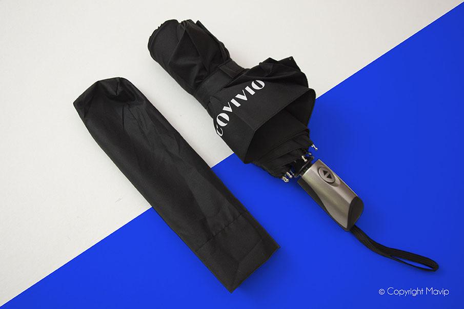 Parapluie personnalisé avec le logo de Covivio par Mavip