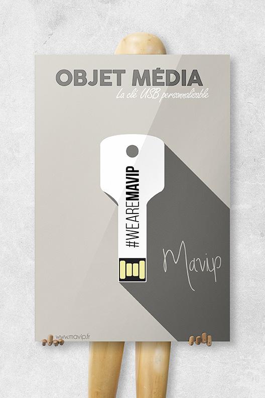 Mavip communique sur les objets médias illustration