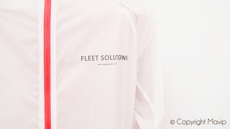 textile publicitaire coupe-vent personnalisable logo entreprise