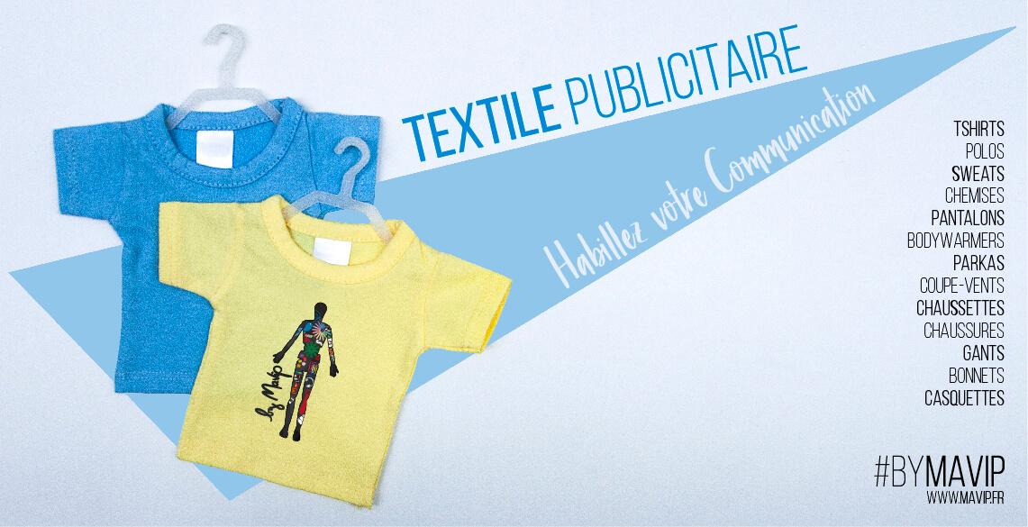 Habillez votre communication avec du textile publicitaire