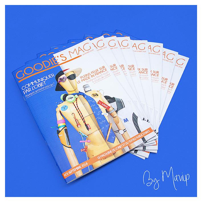 Goodie's Mag le magazine de l'objet média et du textile publicitaires by Mavip