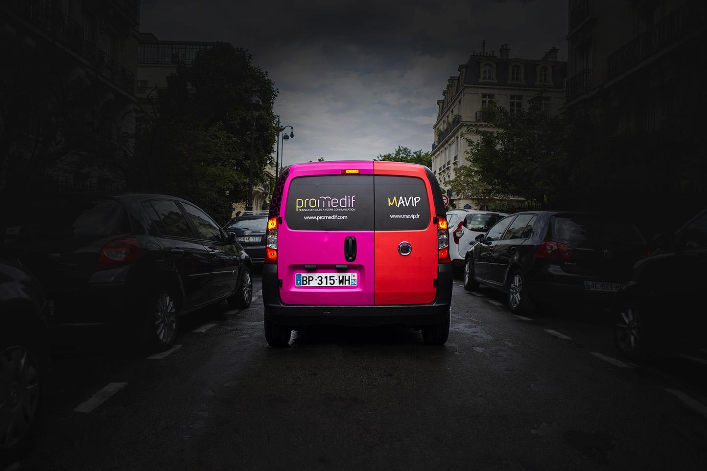 La voiture des objets médias publicitaires by Mavip