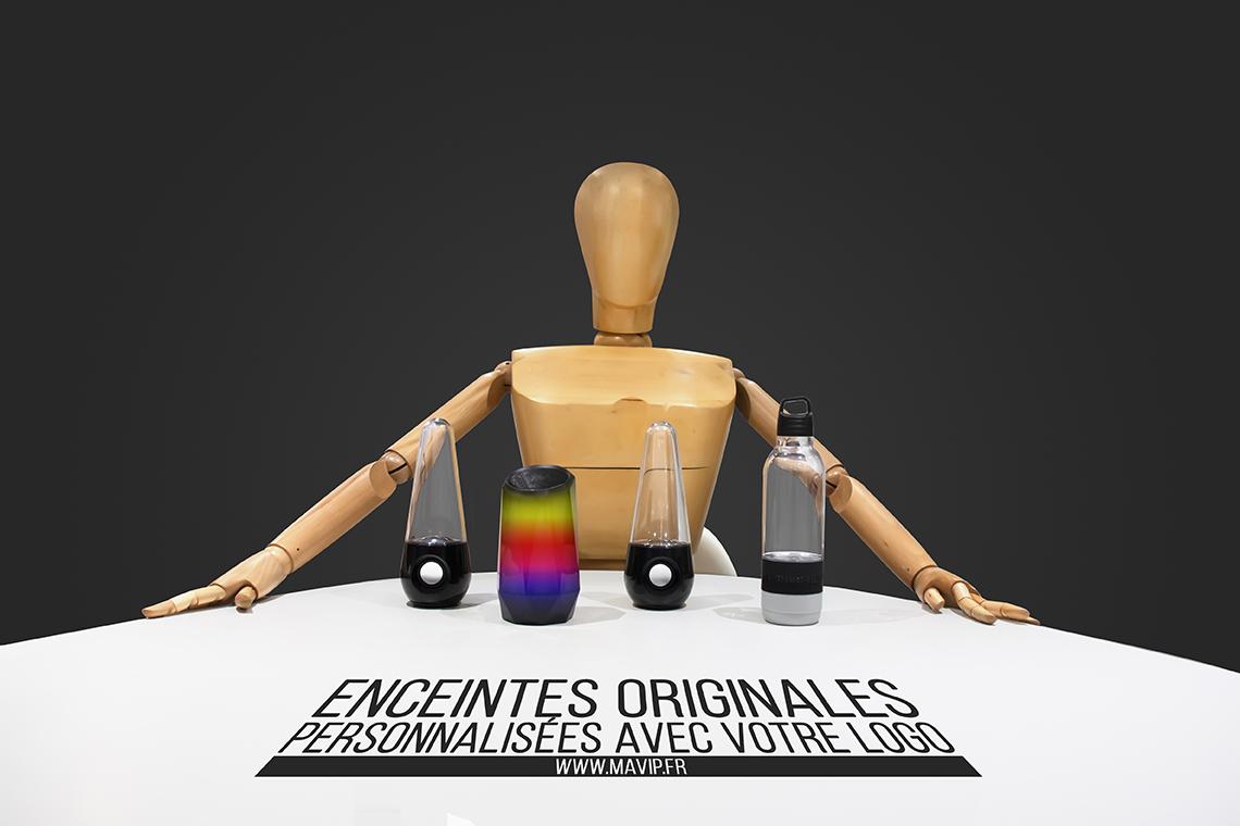 Enceintes originales personnalisables avec logo by Mavip