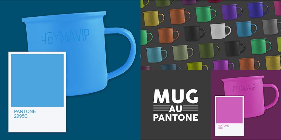 Réalisez votre mug à la couleur pantone