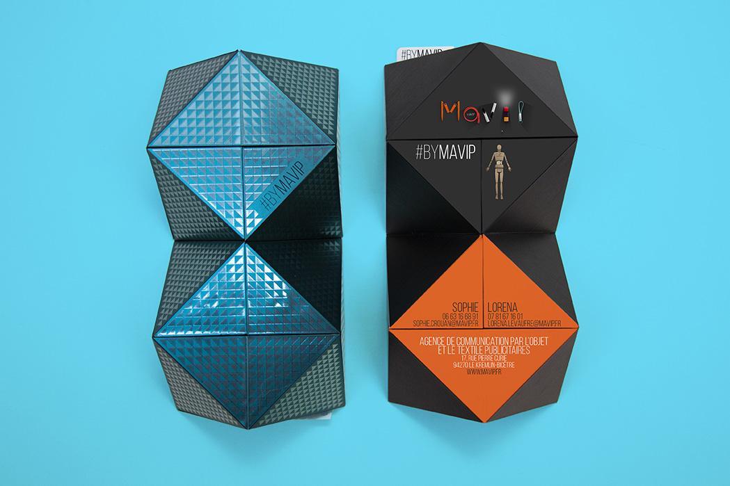 Le cube magique est un objet média personnalisé avec logo envoutant