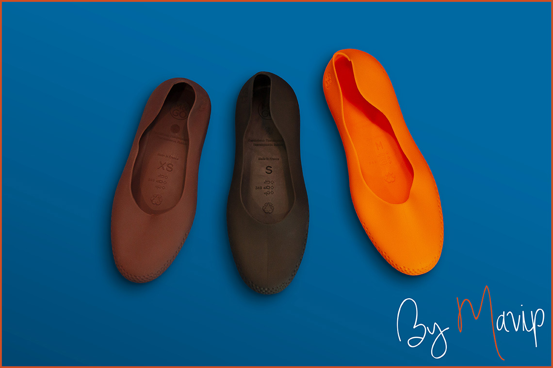 Sur-Chaussures personnalisables avec logo d'entreprise my moulières