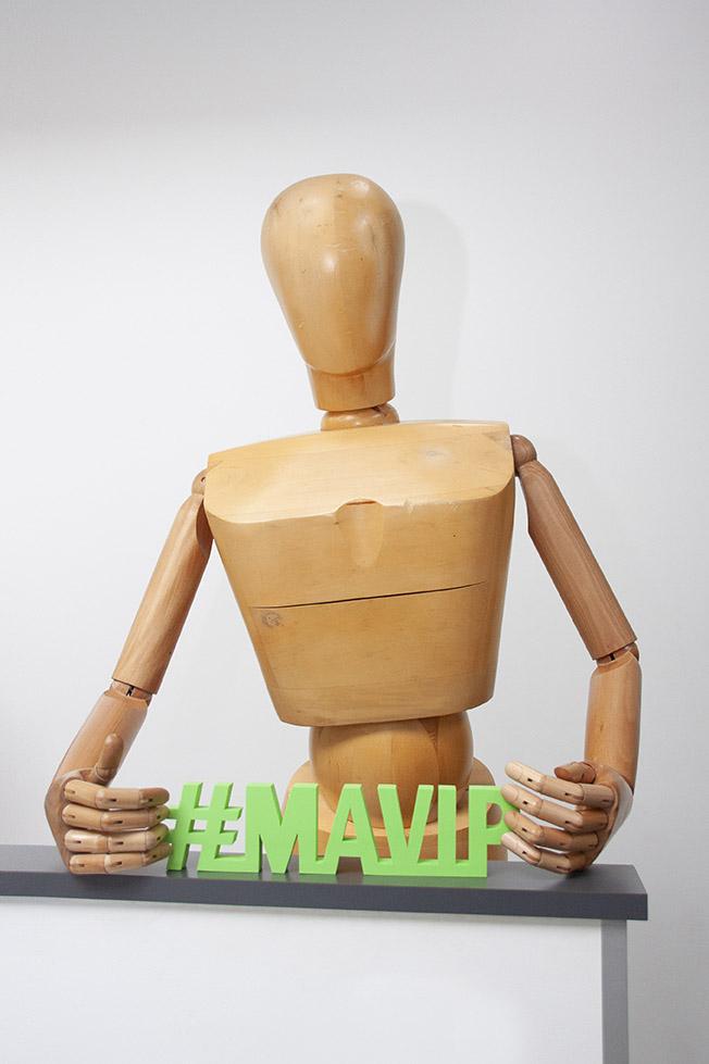 Trophée en mousse personnalisé à la forme by Mavip