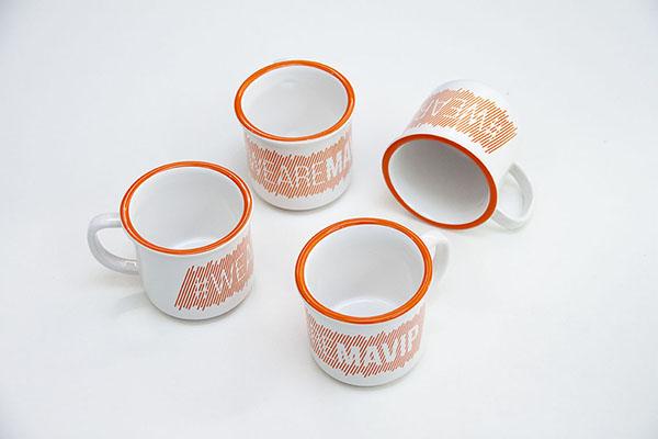mug tasse bol personnalisé avec logo d'entreprise
