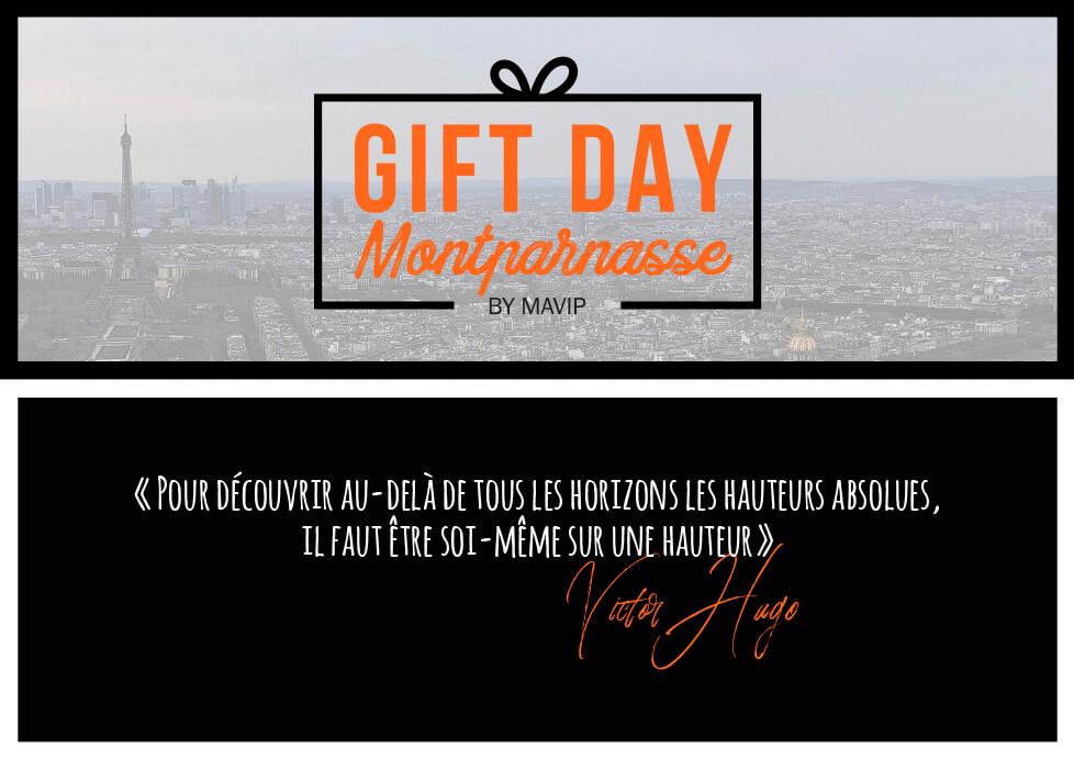 Le Gift Day à Montparnasse by Mavip