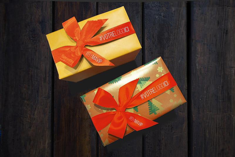 boîte de chocolats personnalisée avec logo d'entreprise by Mavip