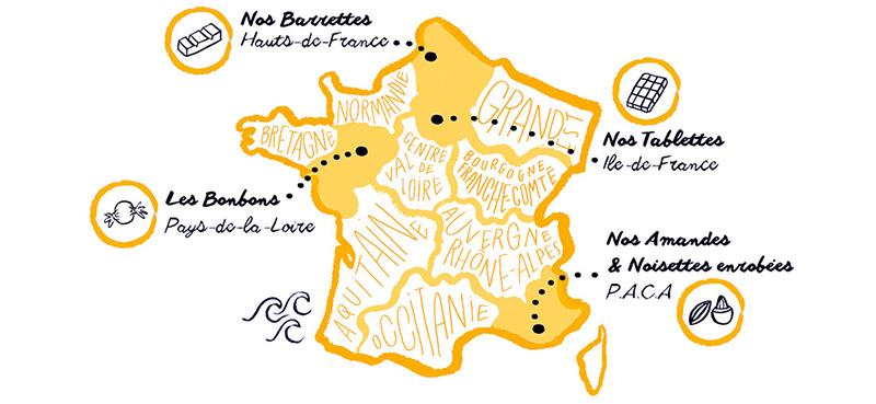 Personnalisez le chocolat des français avec votre logo objet média by Mavip