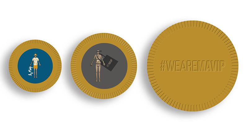 pièce en chocolat personnalisée avec logo d'entreprise by Mavip