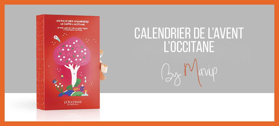 Calendrier de l'avent l'occitane personnalisable avec logo d'entreprise by Mavip