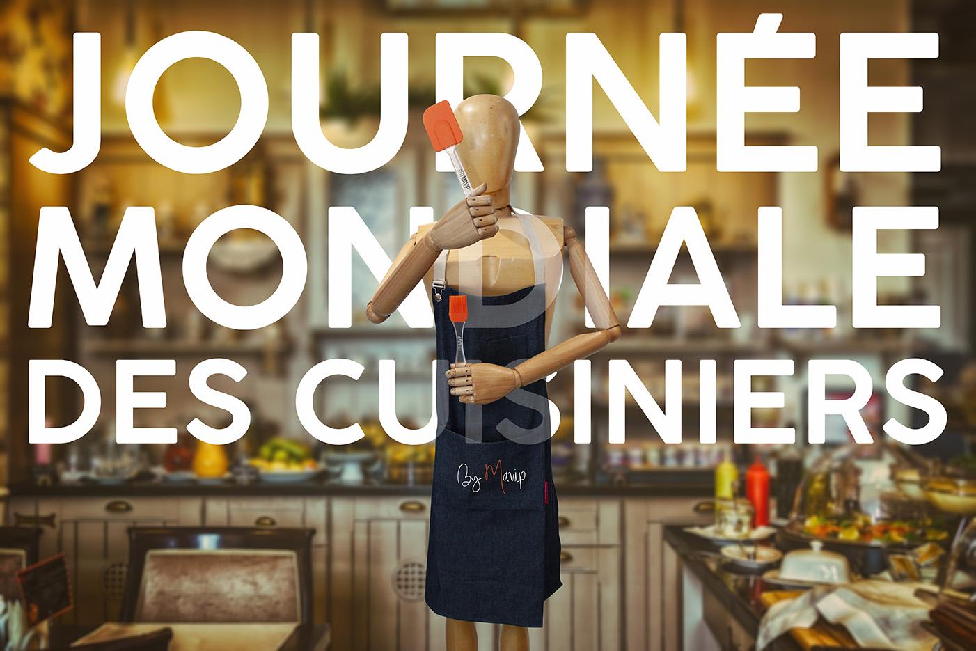 journée mondiale des cuisiniers by Mavip