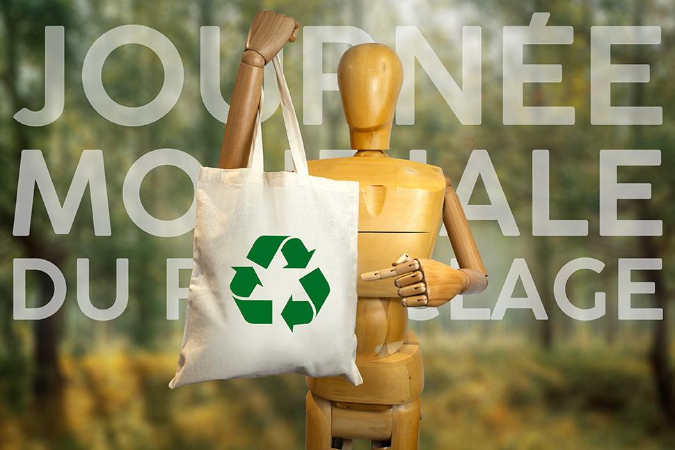 Journée mondiale du recyclage objet média by Mavip