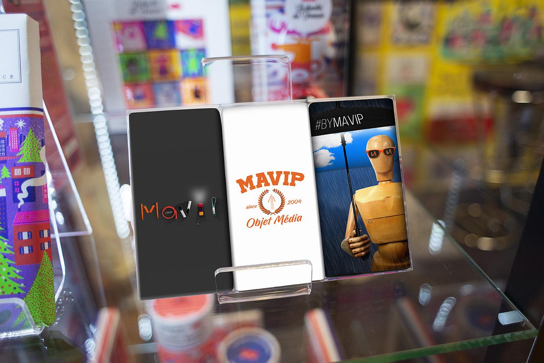 Tablette Le chocolat des Français personnalisée avec logo d'entreprise par Mavip