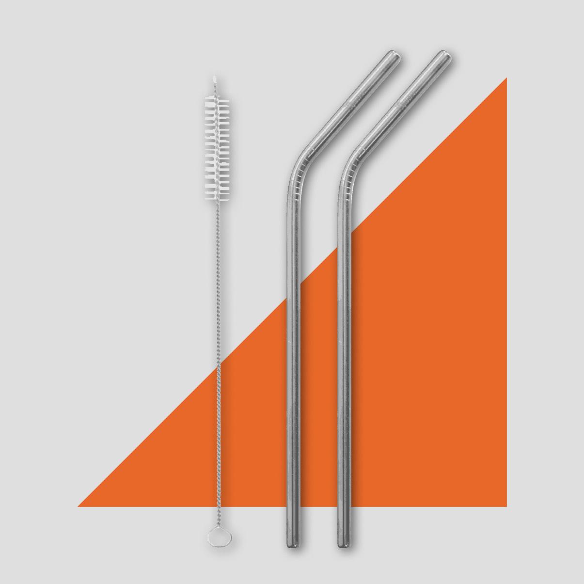 Paille en acier inoxydable personnalisable by Mavip