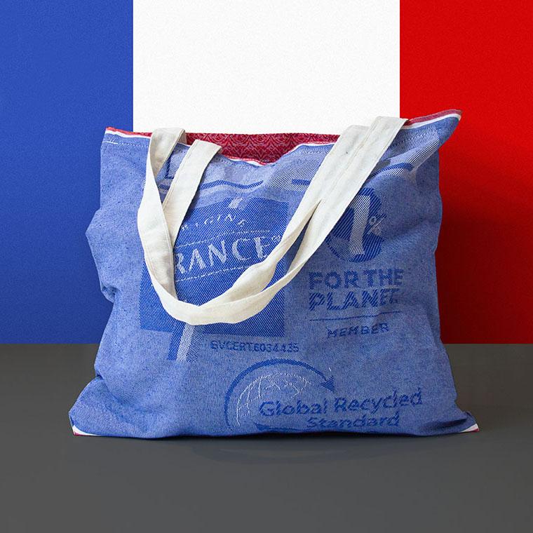 Tote Bag Recyclé et fabriqué en France