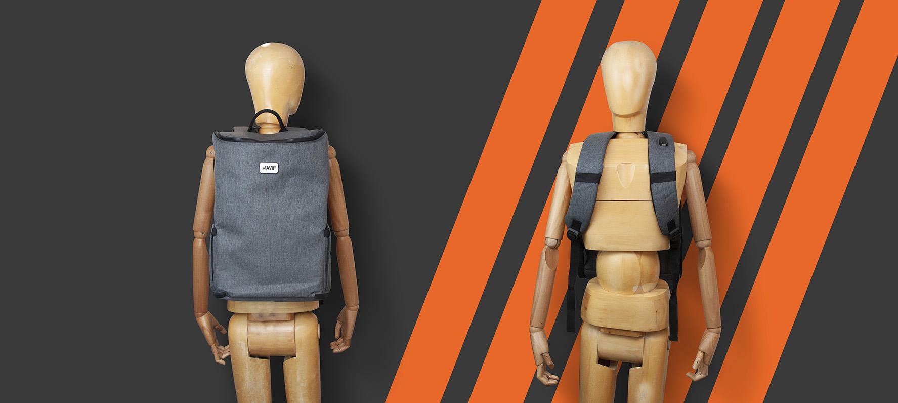 Sac à dos personnalisable avec chargeur intégré