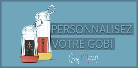 Votre Gobi personnalisable avec logo d'entreprise by Mavip