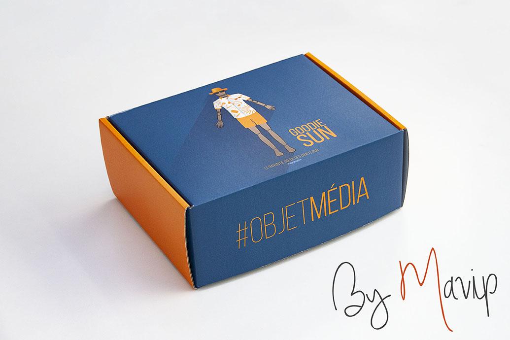 Box personnalisable avec logo d'entreprise