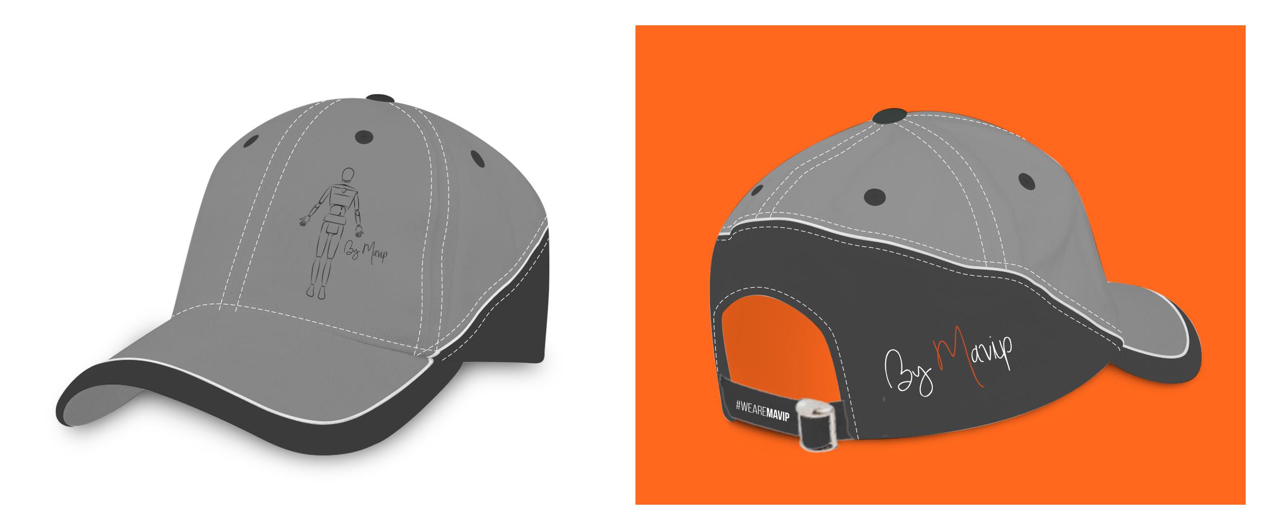 Casquette personnalisée avec logo d'entreprise by Mavip