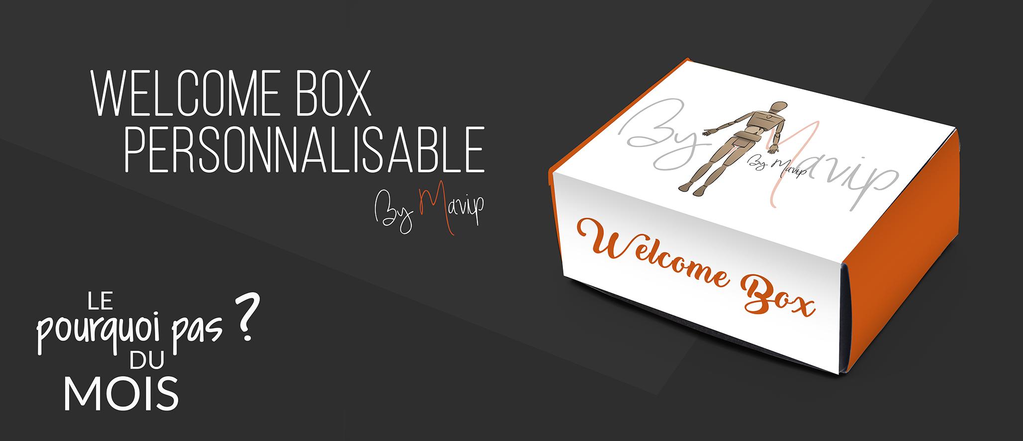 Pourquoi pas une welcome box personnalisée aux couleursde votre entreprise ?
