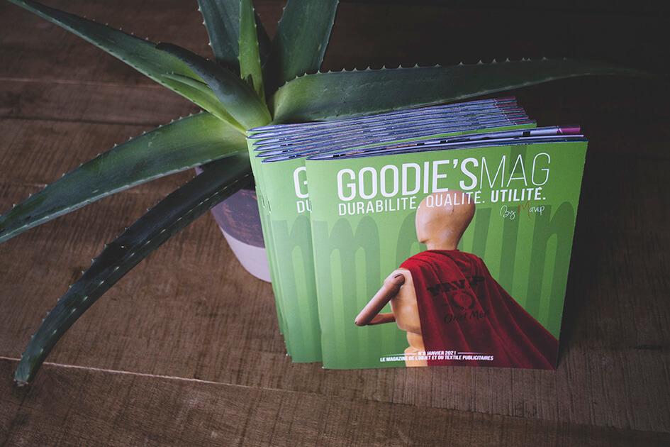 Le Goodie's Mag de Janvier 2021, le magazine des objets publicitaires by Mavip