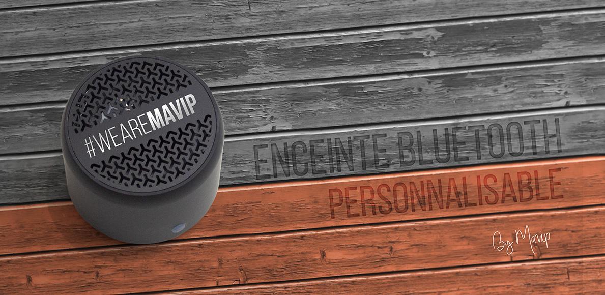 Enceinte élégante personnalisable by Mavip