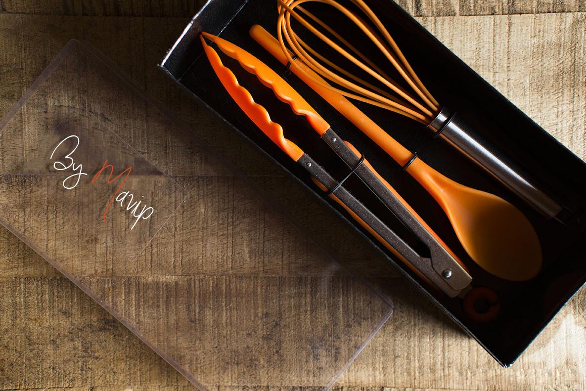 Kit de cuisiner personnalisé avec votre logo d'entreprise
