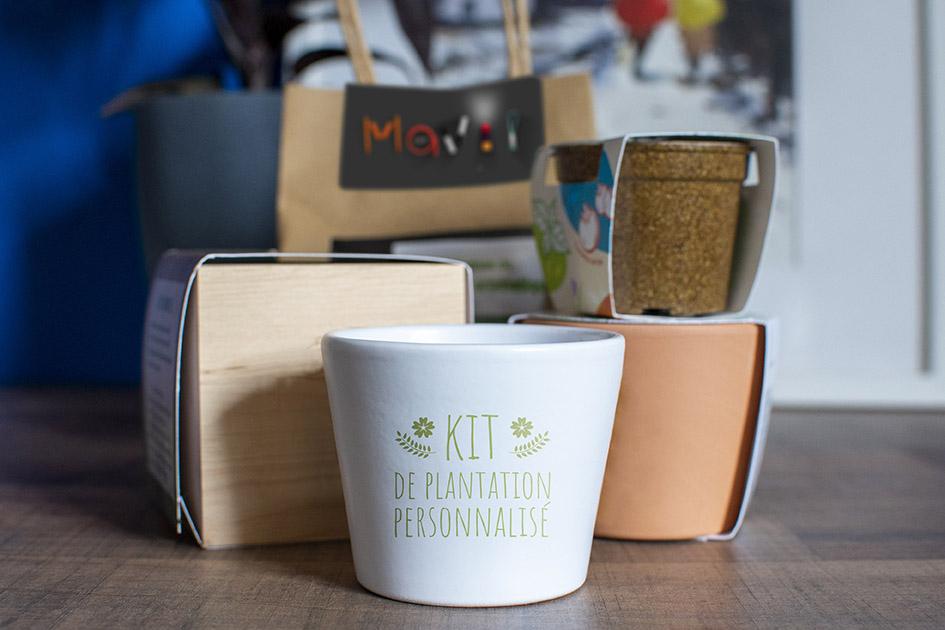 Kit de jardinage personnalisable avec logo d'entreprise by Mavip