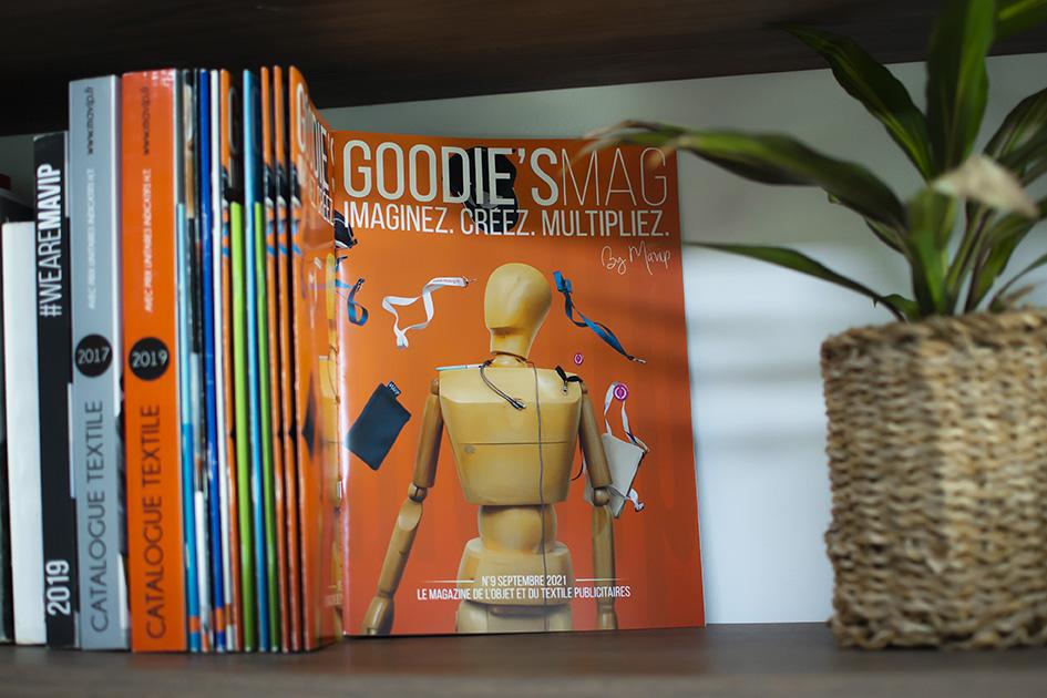 Magazine sur les objets publicitaires