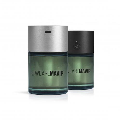 Diffuseur électronique sans contact de lotion hydroalcoolique personnalisé by Mavip