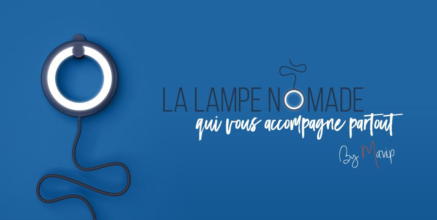 Lampe nomade multifonctions personnalisable avec logo d'entreprise by Mavip
